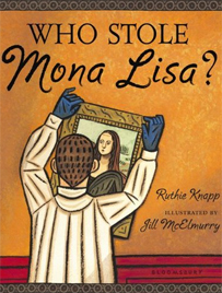 Who Stole Mona Lisa? Book Cover